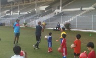 Coach Kal Sandhu from PSV Academy, California holds 2 Sessions as Guest Coach for SSE